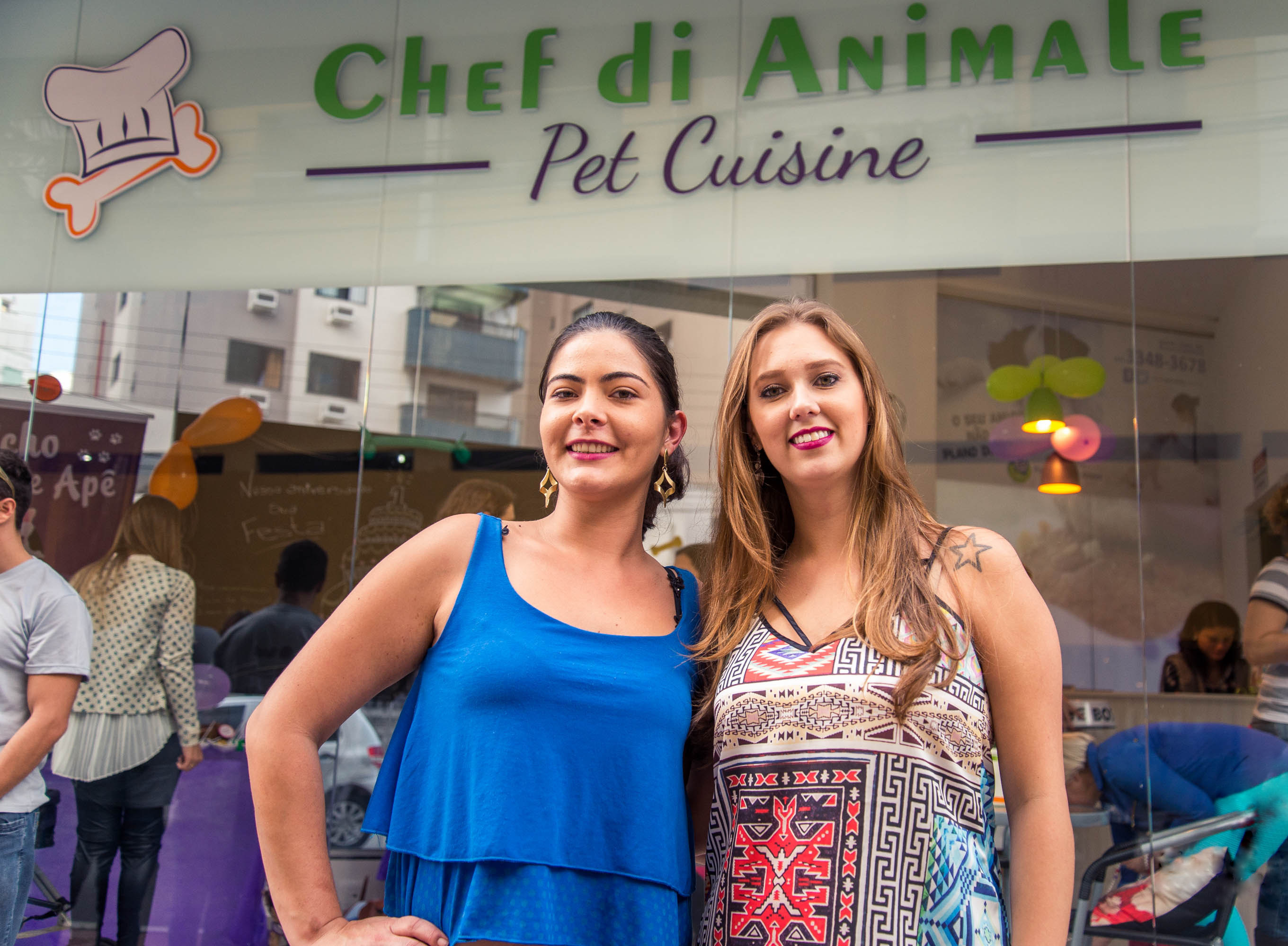 Caroline e Bettina, da Chef di Animale